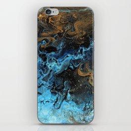 Mixing nebulae iPhone Skin