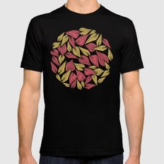 Spring Wind Mens Fitted Tee LARGE Black