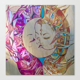 Yin& Yang balance Metamorphosis Gallery Collection  Canvas Print