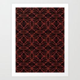 Trellised Art Print