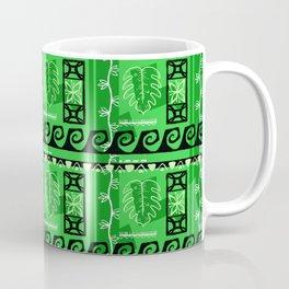 Hawaiian Pattern #1 - green! Coffee Mug