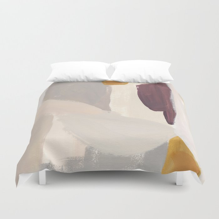 Plumb Crazy Duvet Cover