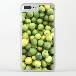 Limes 2 Clear iPhone Case