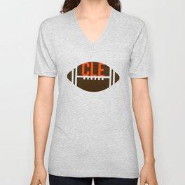 Cleveland Football Fan Unisex V-Neck