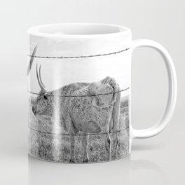 Longhorn Cows Coffee Mug