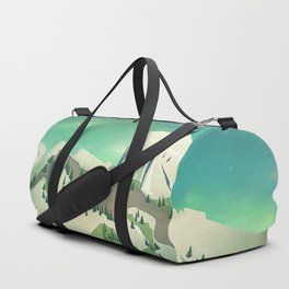 Alpine Enchantment Duffle Bag