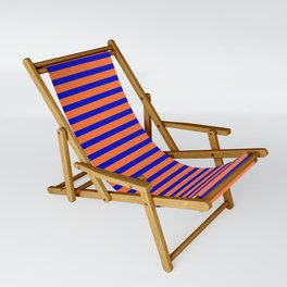 Vintage Beach Stripes Sling Chair