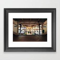 UP & DOWN Framed Art Print