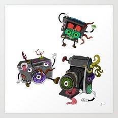 Snapshot (ANALOG zine) Art Print