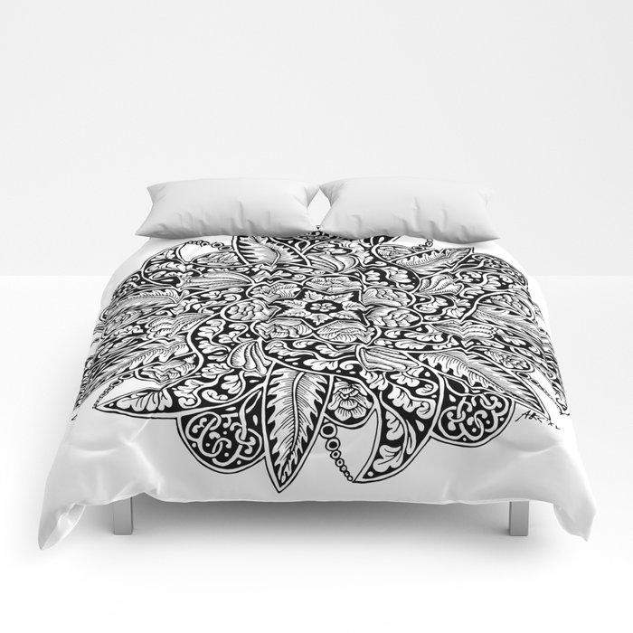 Ornament mandala Comforters