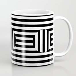 Black and white stribes Vol. 1 Coffee Mug