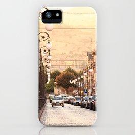 mountain roads iPhone Case