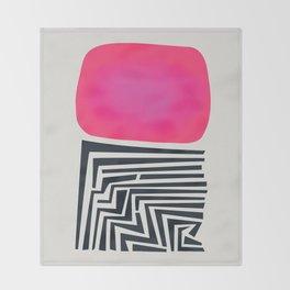Labyrinth Throw Blanket
