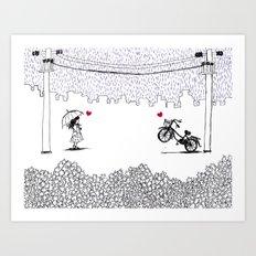 Little Love Story Art Print