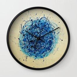 Jackson Pollock Vs Jeff Koons Wall Clock