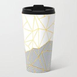 Ab Half and Half Grey Travel Mug