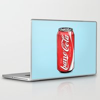 bane Laptop & iPad Skins featuring Bane Cola by Jesus Bane