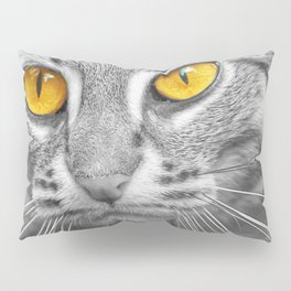 RUSTY SPOTTED CAT Pillow Sham