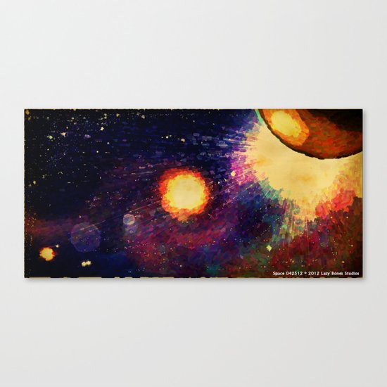 SPACE 04-25-12 Canvas Print