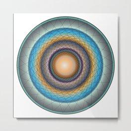 Mandala 1 Metal Print