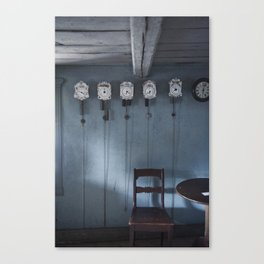 Time + Space Canvas Print