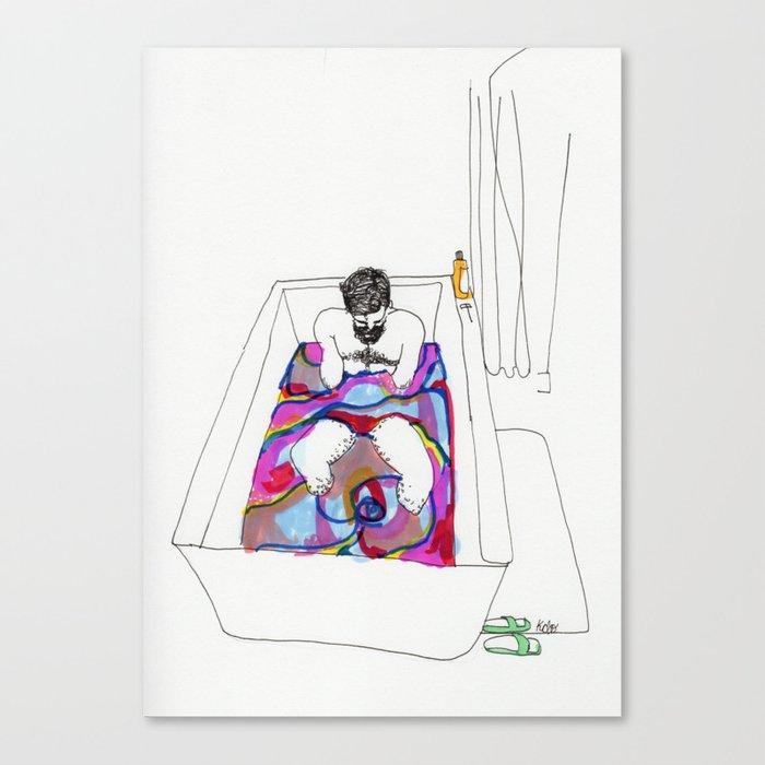 bath bomb Canvas Print