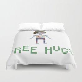 free hugs 4 Duvet Cover
