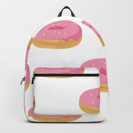 Pink Simpson Doughnuts Backpack