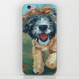 Wheaton Terrier Dog Portrait iPhone Skin