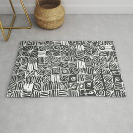 Be square. Be deep. Rug