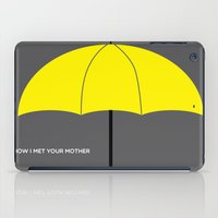himym iPad Cases featuring HIMYM - The Mother by Raye Allison Creations