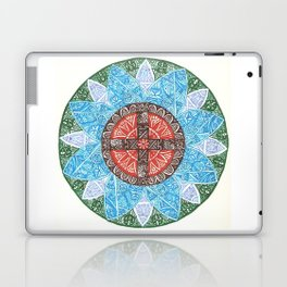 stained flower Laptop & iPad Skin