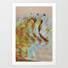 Line King Art Print