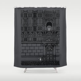Romeo and Juliet's Penultimate Breath Shower Curtain