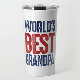 Gift for Grandpa Travel Mug