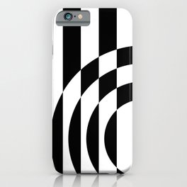 Hot Spot || Black & White iPhone Case