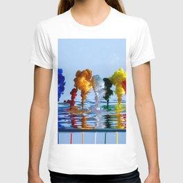 Water Liquid Paint T-shirt