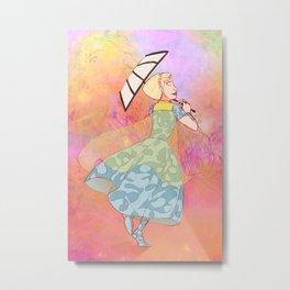 An Adventurous Princess Metal Print