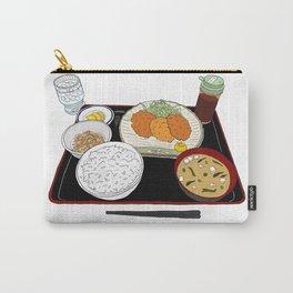 Japanese Tonkatsu Bento Carry-All Pouch