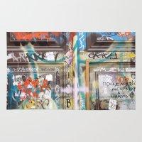 door Area & Throw Rugs featuring DOOR by  ECOLARTE