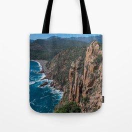 Corsica Island Landscape Tote Bag