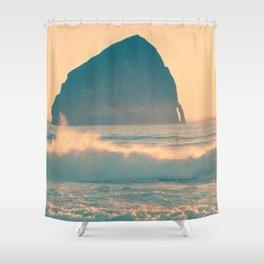 CAPE KIWANDA - OREGON Shower Curtain