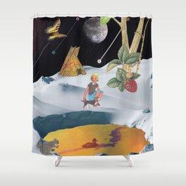 K2 Mountain Shower Curtain