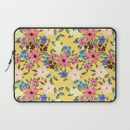Stylish garden floral design Laptop Sleeve