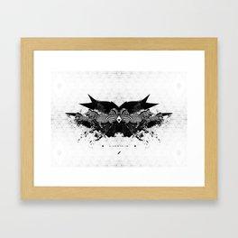 BLACK & WHITE | Zebras | Linco7n. | L7. Framed Art Print