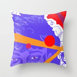 LISA :: Memphis Design :: Saved By The Bell Series Throw Pillow