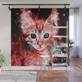 cat years ws2s Wall Mural