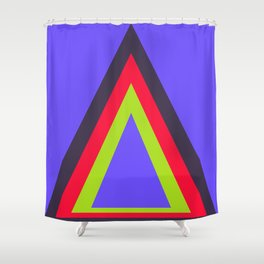 Homage to the Triangle Shower Curtain