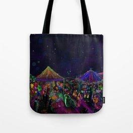 Magical Night Market Tote Bag