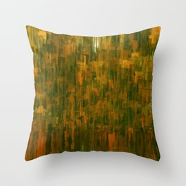 Burnt Doctrine Throw Pillow